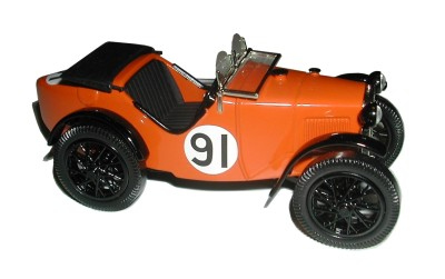 "Austin Seven ""Ulster"" by Emmy Models from Switzerland, 1/32nd scale, released in 2014"