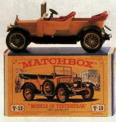 mint and boxed (Daimler 1911 by Matchbox Yesteryear)