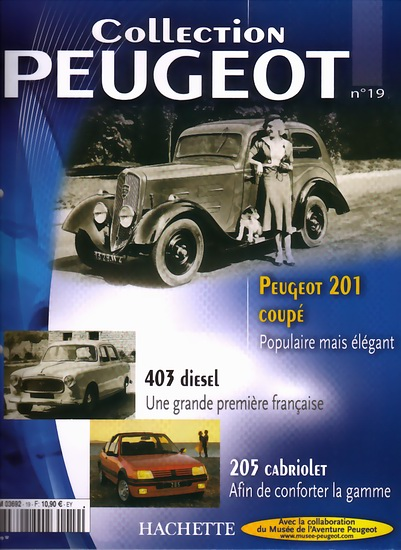 """Collection Peugeot"" by Hachette"