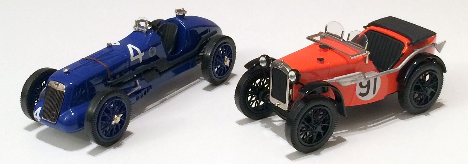 MG R-Type, Austin Seven Ulster (Emmy Models)